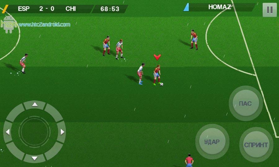Игра футбол на андроид скачать бесплатно на русском языке