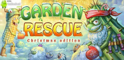 Garden Rescue Christmas Edition для Android